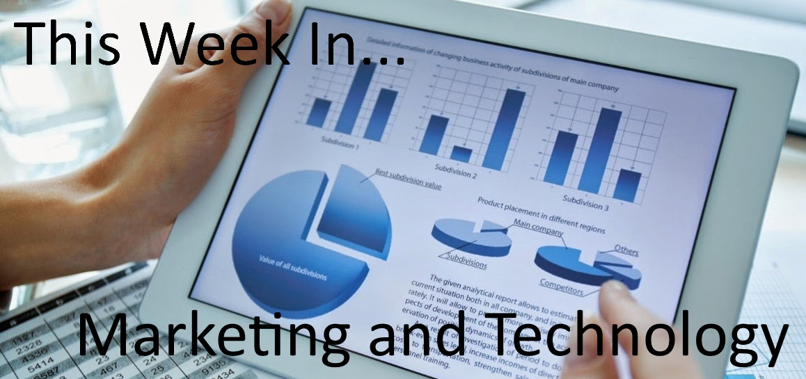 Weekly Marketing Technology News