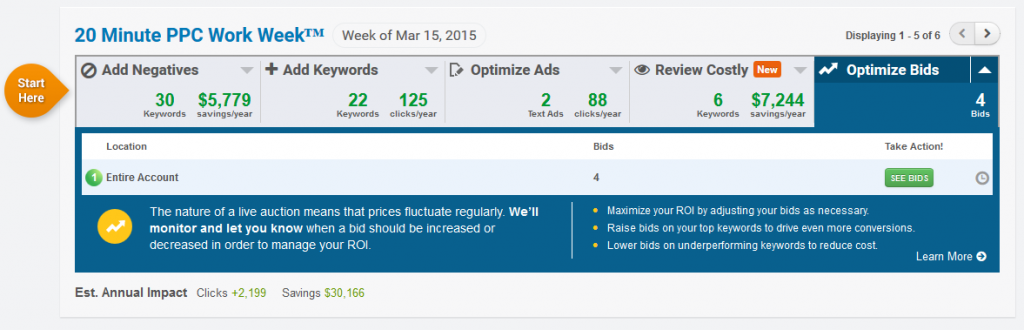 Optimize Bids Overview