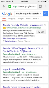 Organic Search Negatively Affects Website That Are Not Mobile-Friendly