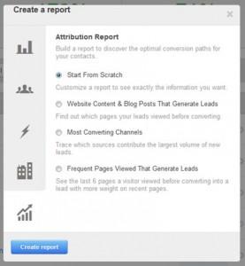 HubSpot Attribution Report Types
