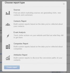 HubSpot Report Type