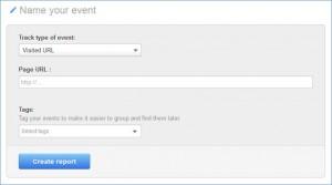 HubSpot Event Analysis Visited URL