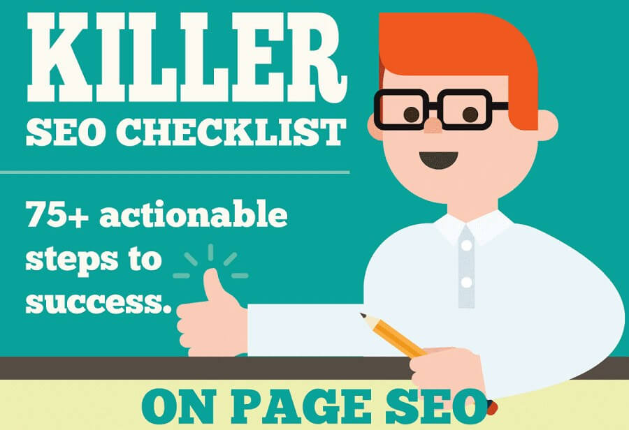Killer SEO Checklist – 75 Actionable Steps to Success [Infographic]