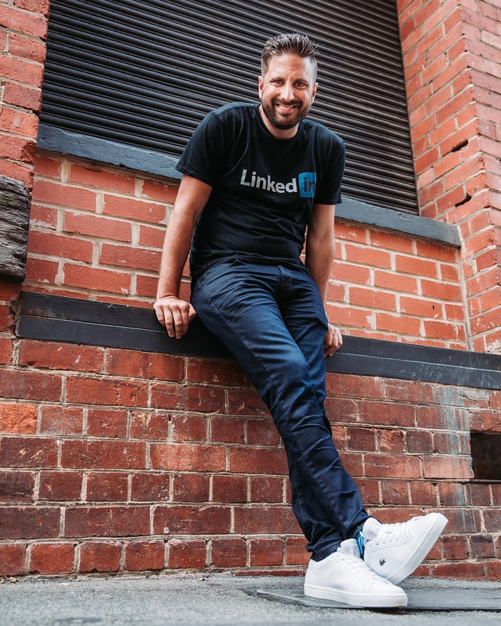 Nathanial Bibby, LinkedIn Strategy Expert and the Managing Director of Bibby Consulting Group
